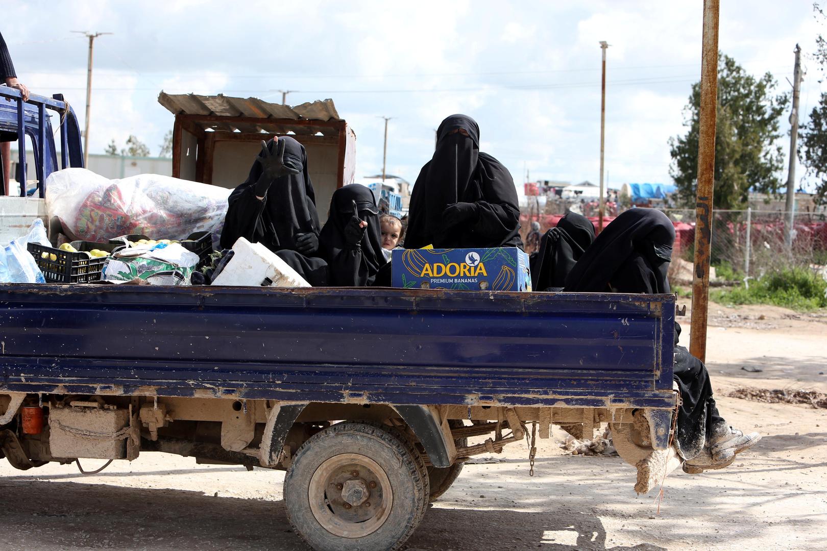 مخيم الهول للنازحين في محافظة الحسكة، أرشيف