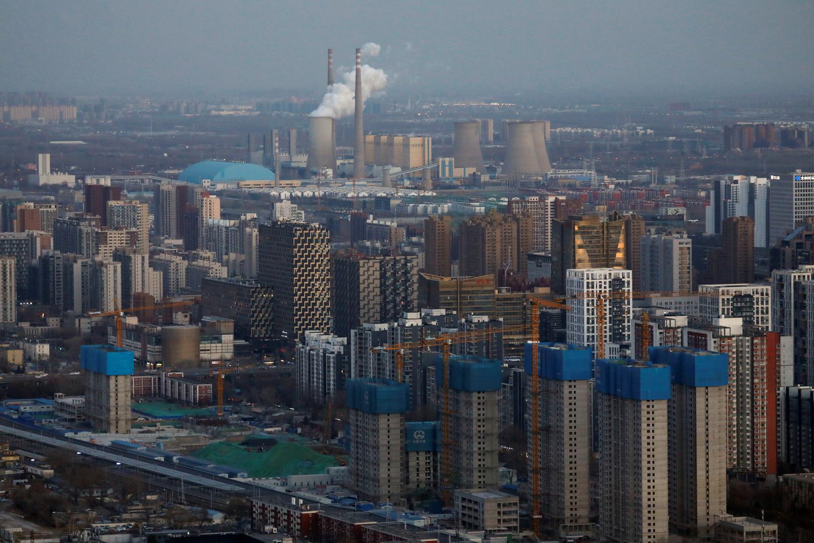 مشاريع سكنية في العاصمة الصينية بكين.