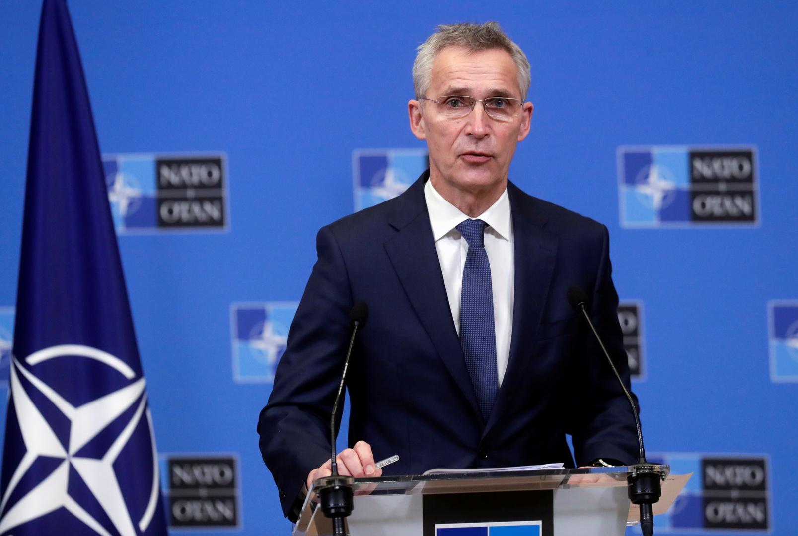 ستولتنبيرغ: لا يحق لروسيا التدخل في انضمام دول أخرى إلى الناتو