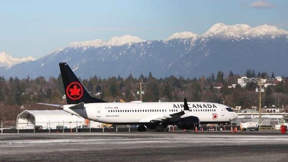 طائرة بوينغ تابع للخطوط الجوية الكندية - أرشيف