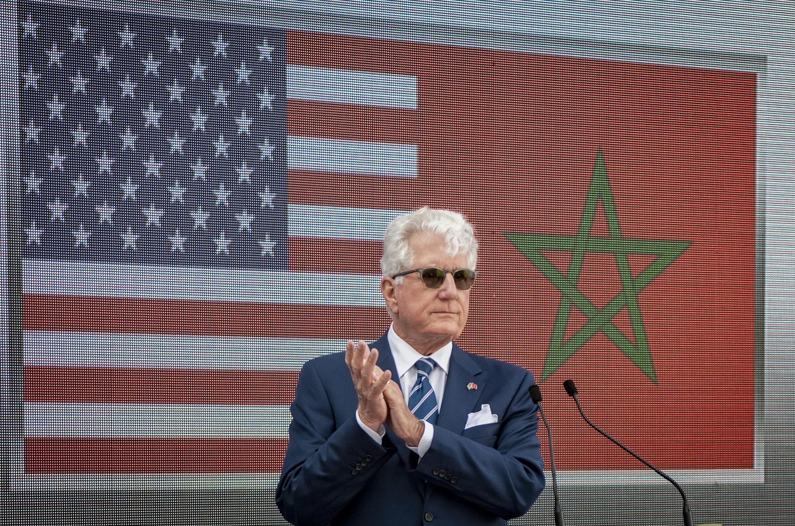 السفير الأمريكي في الرباط ديفيد فيشر