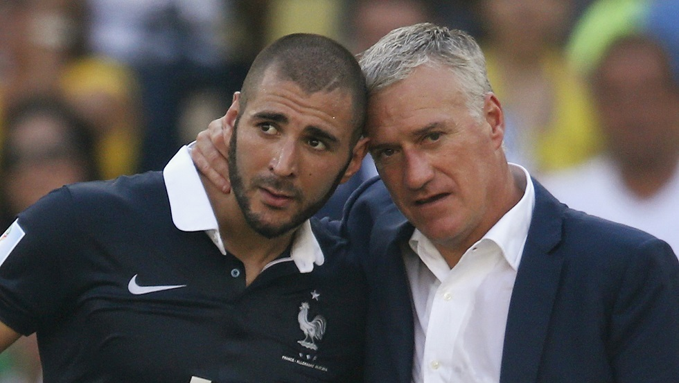 ديشامب يرد على دعوة استعادة بنزيما إلى منتخب فرنسا