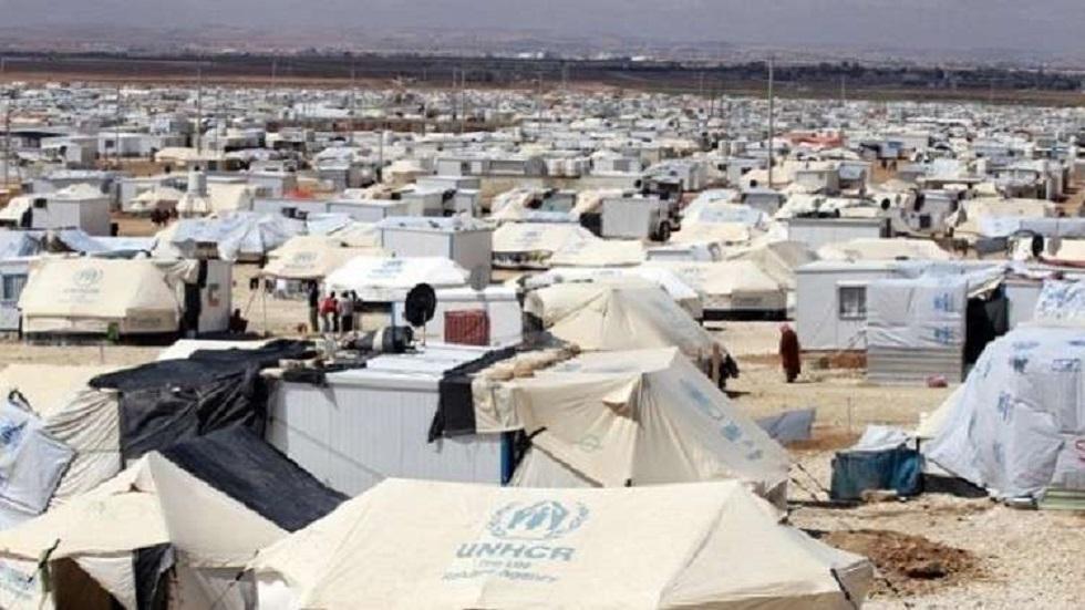 مخيم الزعتري للاجئين السوريين في الأردن - أرشيف