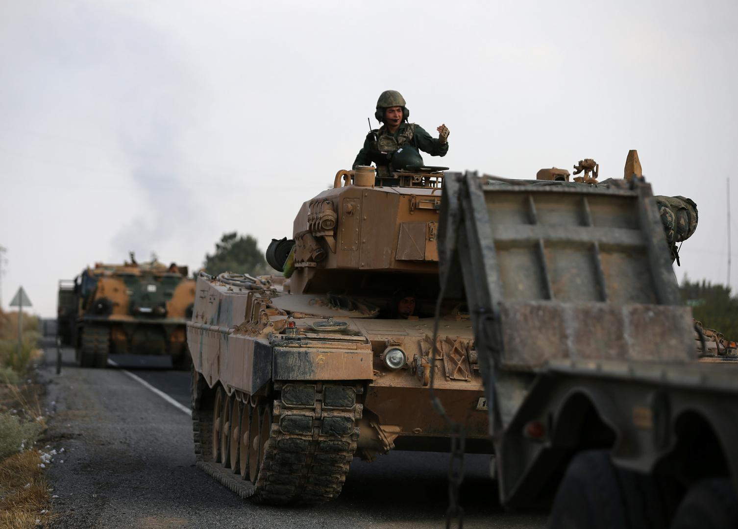 القوات التركية تعثر على عبوة ناسفة تزن 78 كغ شمالي سوريا