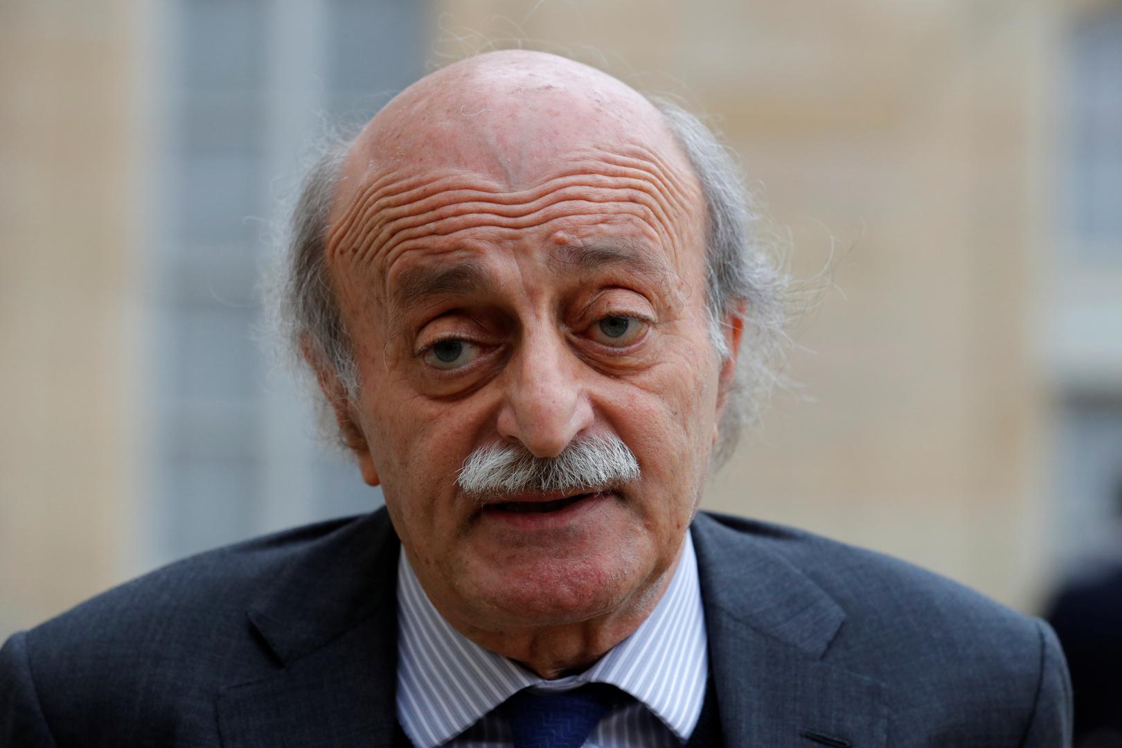 رئيس الحزب التقدمي الإشتراكي اللبناني وليد جنبلاط
