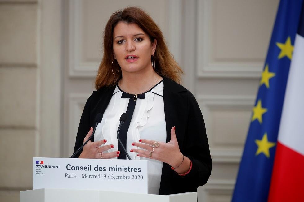 وزيرة الدولة لشؤون المواطنين في فرنسا، مارلين شيابا