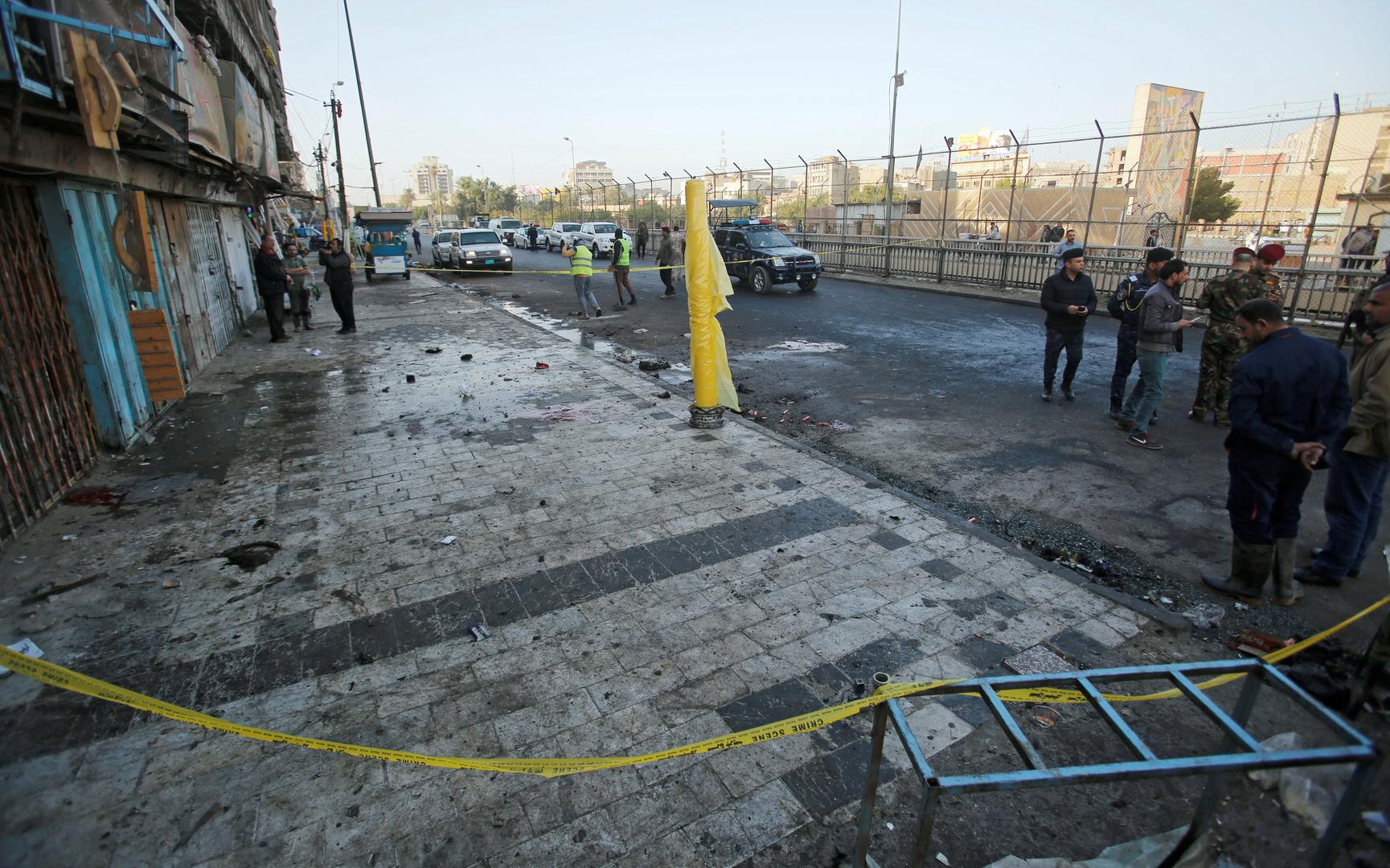 القيادة المركزية: انفجارات جنوب بغداد لم تكن ناتجة عن عمل عسكري أمريكي
