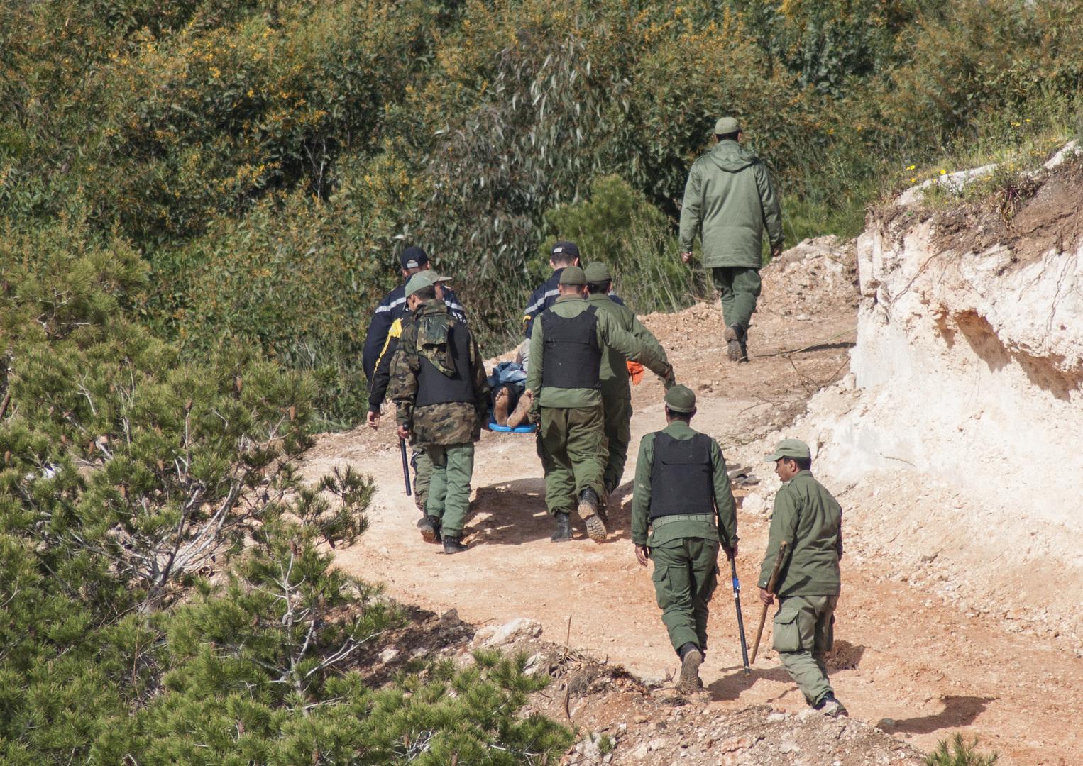 جنود القوات الملكية المغربية. الصورة: أرشيف.