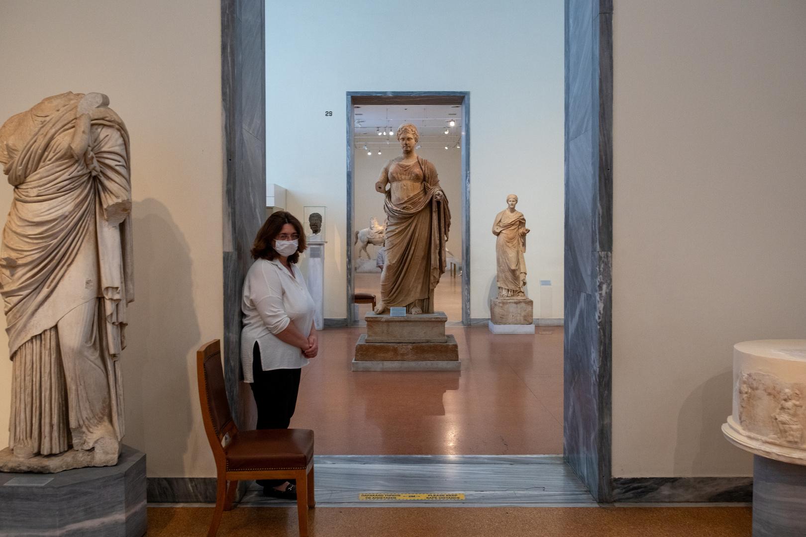 متحف يوناني، أرشيف