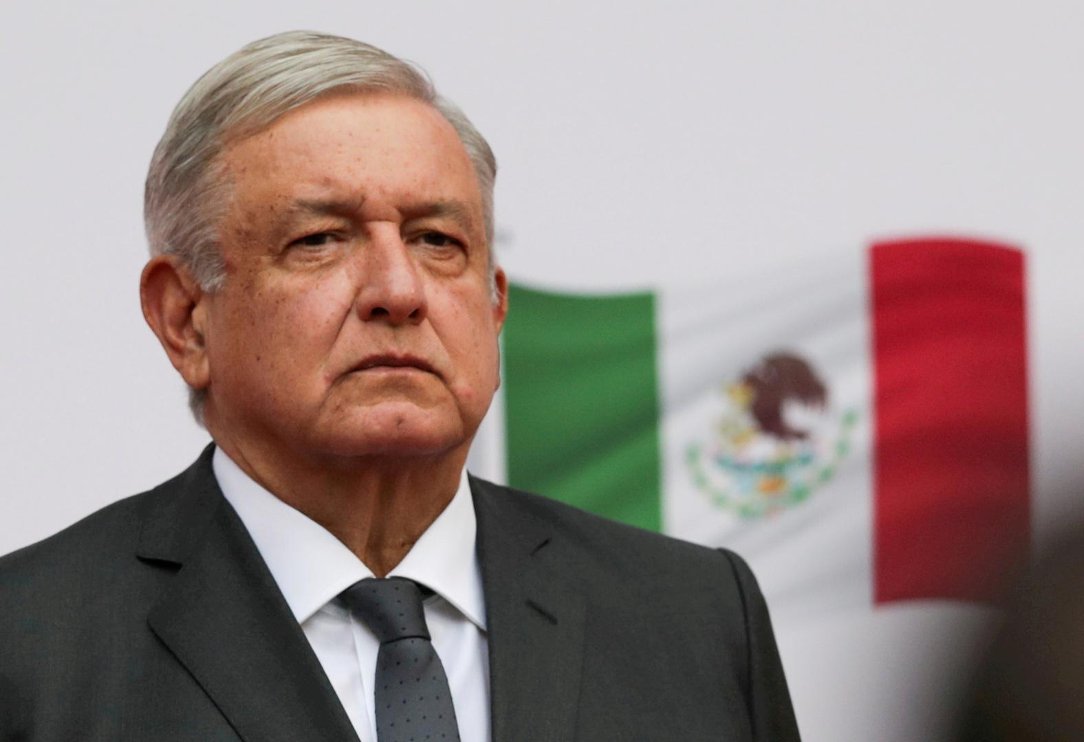 رئيس المكسيك: واشنطن لا تملك أي دليل يدين وزيرنا السابق بتجارة المخدرات