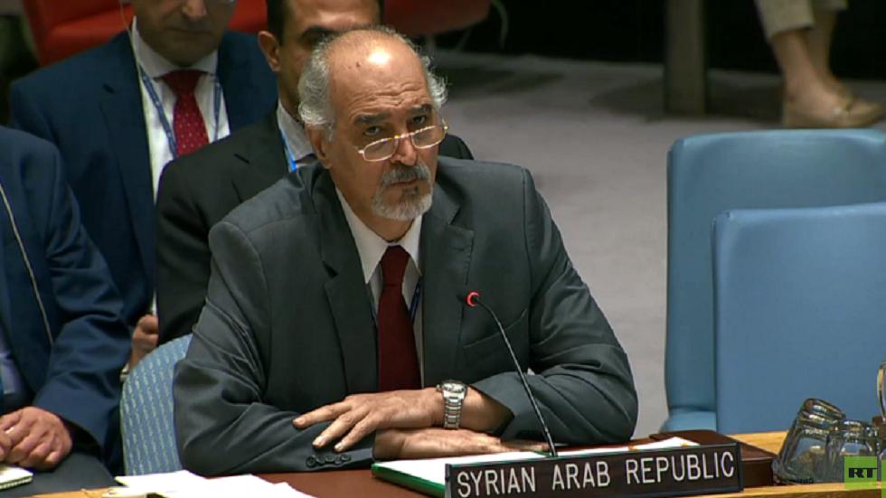 نائب وزير الخارجية والمغتربين مندوب سورية الدائم لدى الأمم المتحدة بشار الجعفري