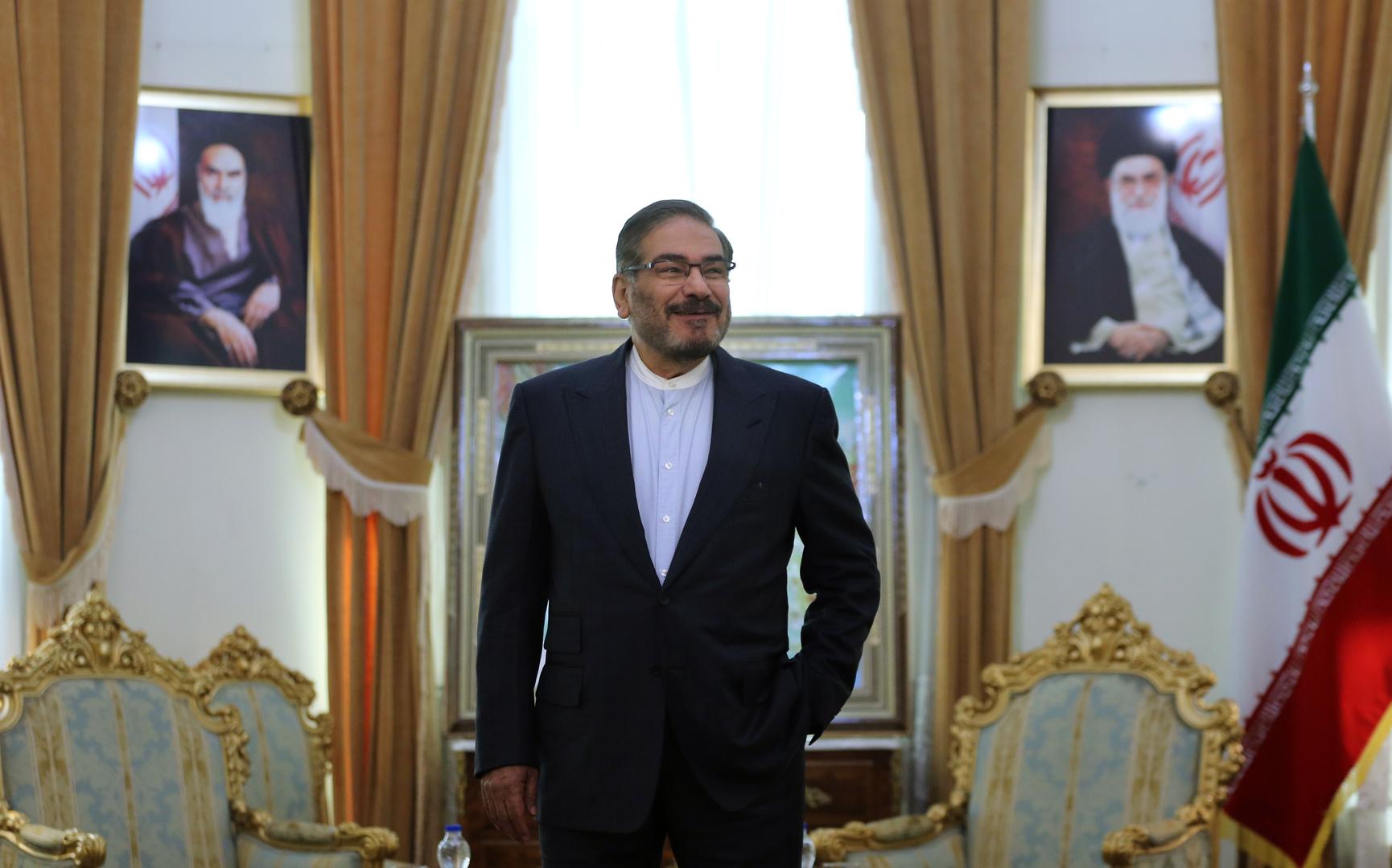 الأمين العام لمجلس الأمن القومي الإيراني علي شمخاني