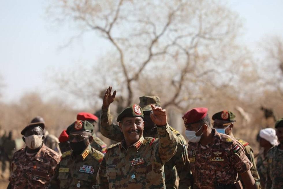 رئيس مجلس السيادة السوداني القائد العام للقوات المسلحة الفريق أول ركن عبد الفتاح البرهان
