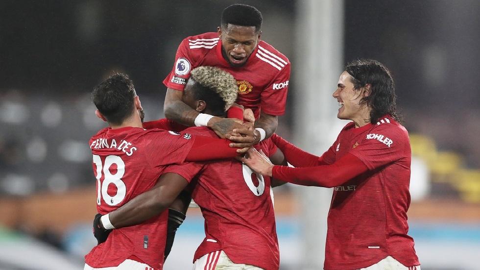 الدوري الإنجليزي.. مانشستر يونايتد يتغلب على فولهام ويستعيد الصدارة