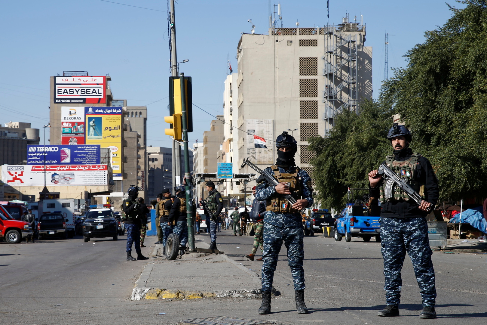مصر تعلن عن تضامنها مع العراق بعد