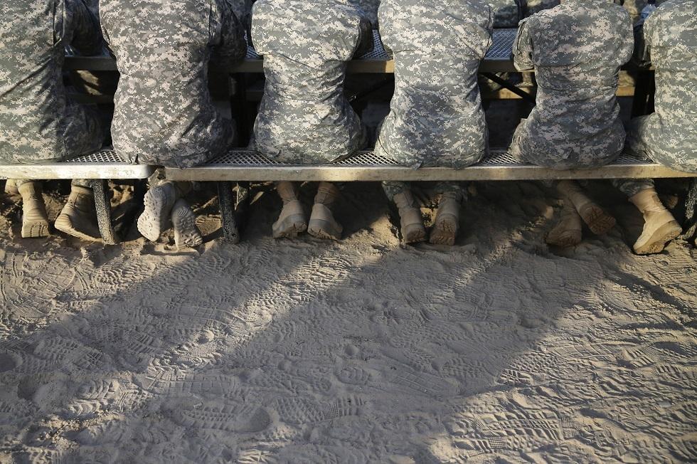 جنود أمريكيون في الكويت