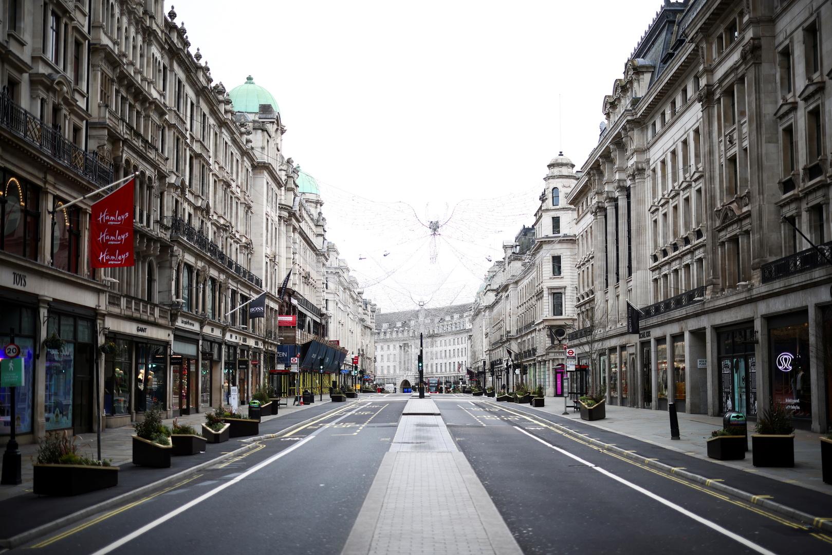 لندن في زمن جائحة فيروس كورونا.