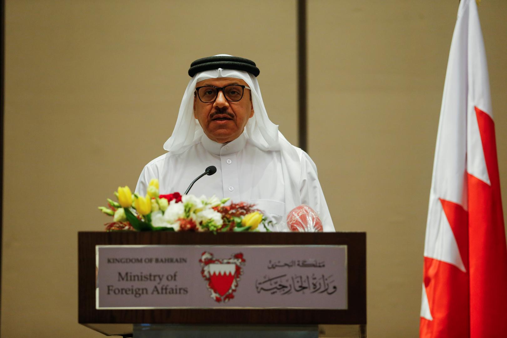 وزير خارجية البحرين، عبد اللطيف بن راشد الزياني.