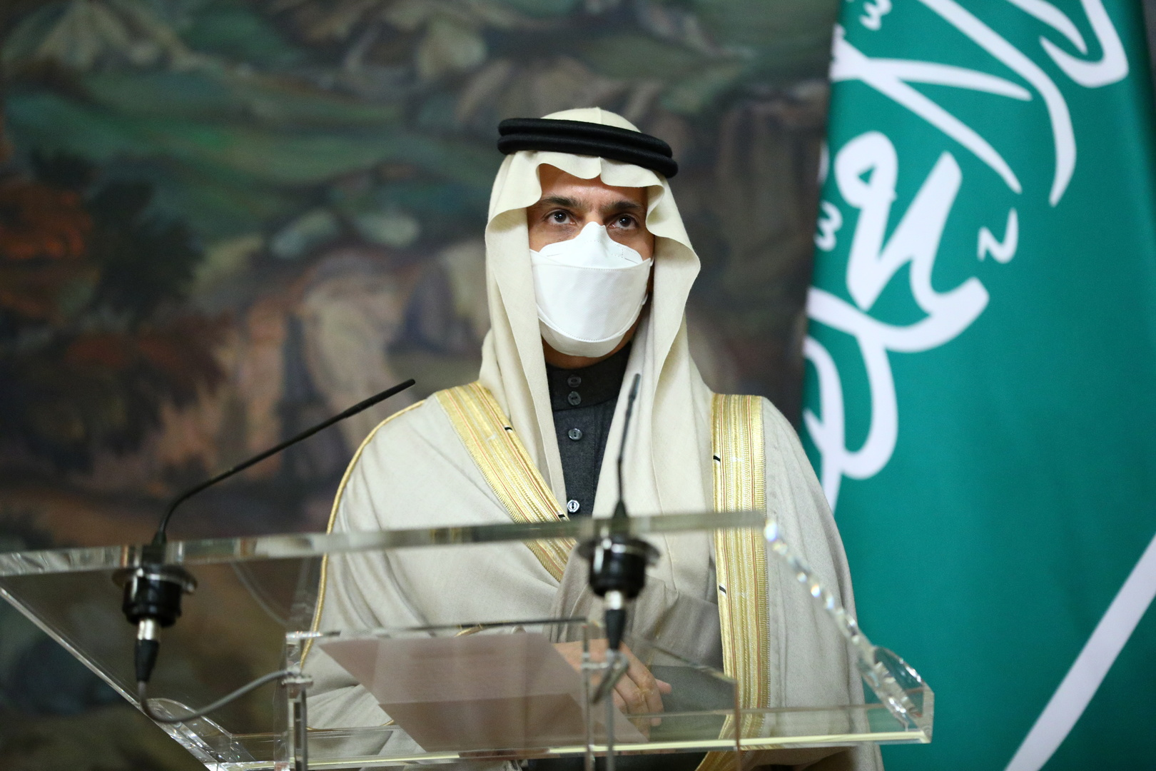 وزير الخارجية السعودي، الأمير فيصل بن فرحان.