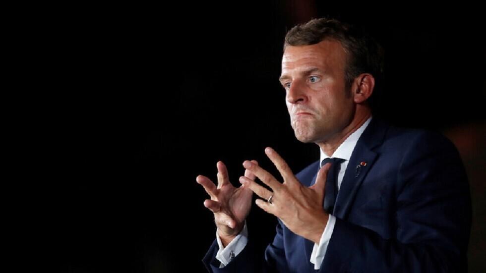 ماكرون يدعو الشعب الفرنسي للتخفيف من الانتقادات
