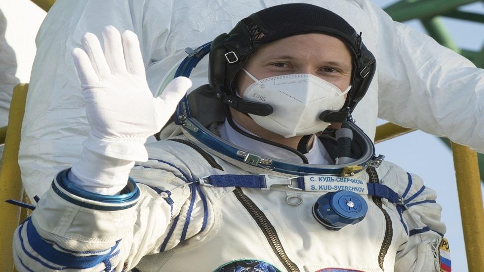 رائد الفضاء الروسي سيرغي كود سفيرتشكوف