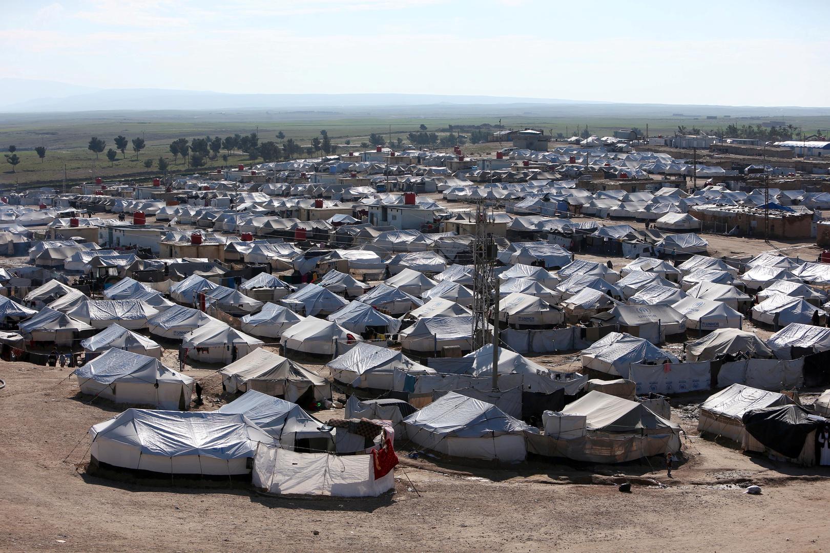 مخيم الهول، أرشيف