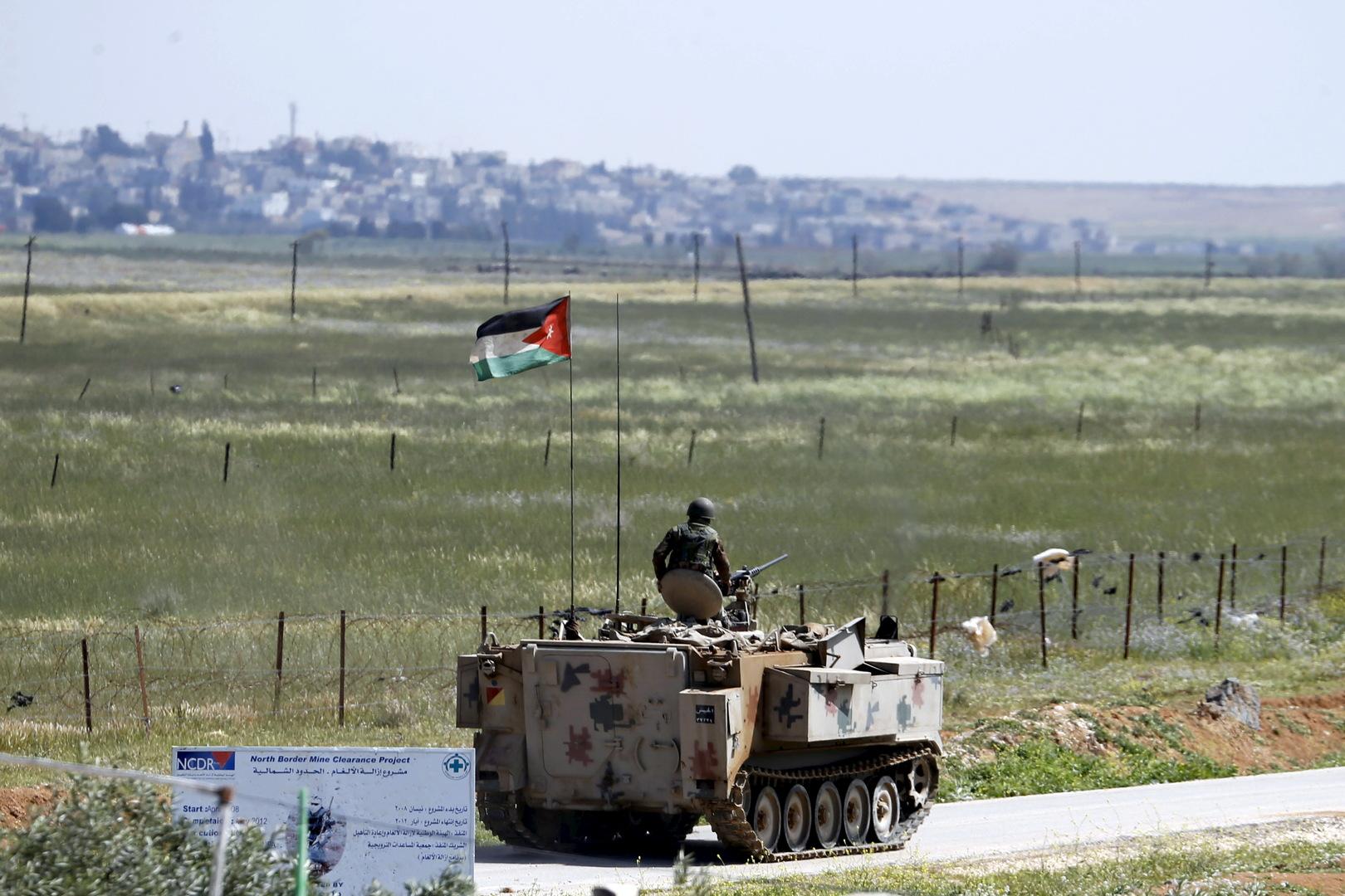 دوي انفجار بشمال غربي الأردن بالتزامن مع قصف إسرائيلي لمواقع وسط سوريا