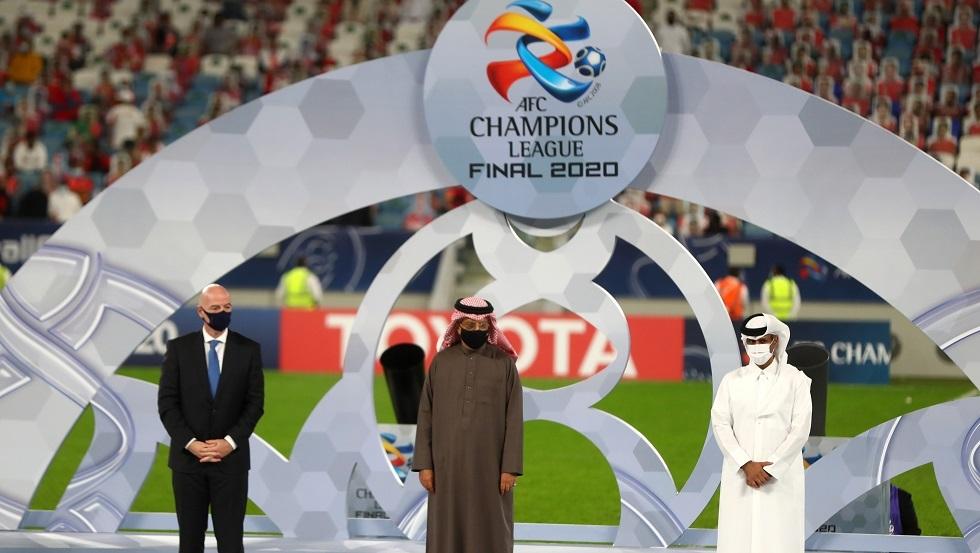 الصورة من نهائي دوري أبطال آسيا 2019-2020