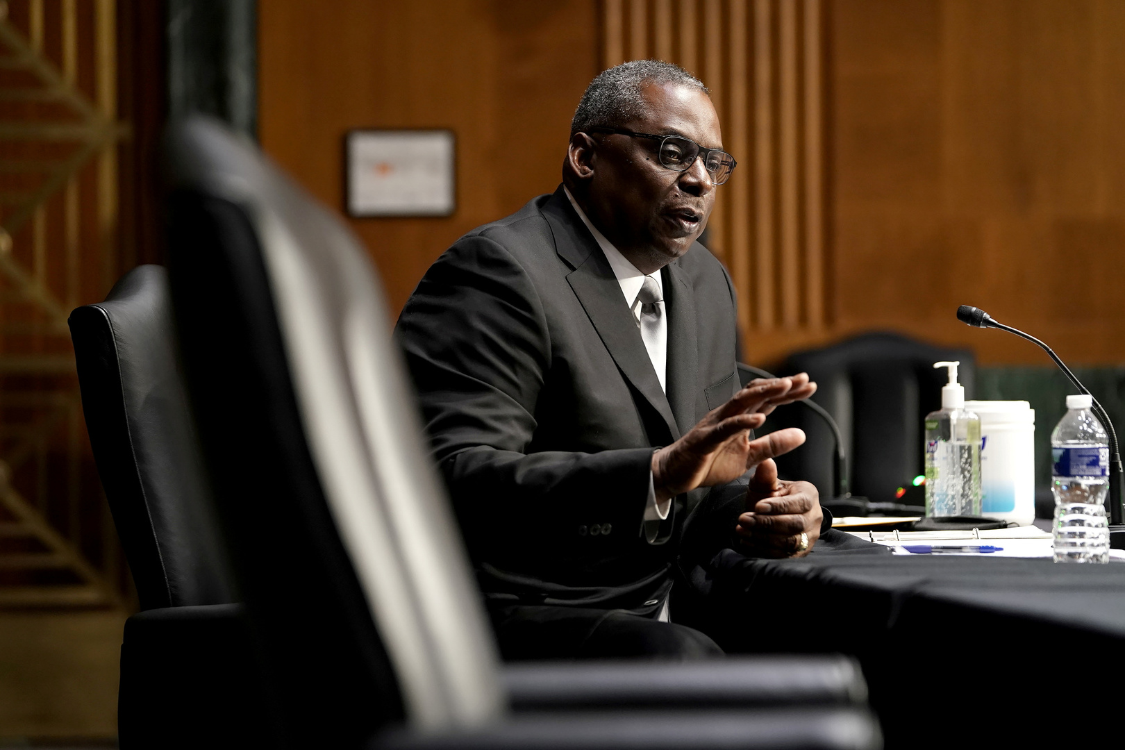 The US Senate approves the appointment of Lloyd Austin as Secretary of Defense