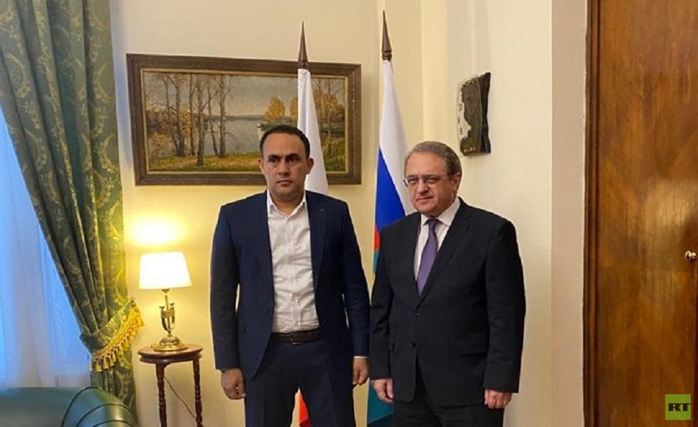 بوغدانوف يبحث الوضع في ليبيا مع عضو في مجلس النواب الليبي
