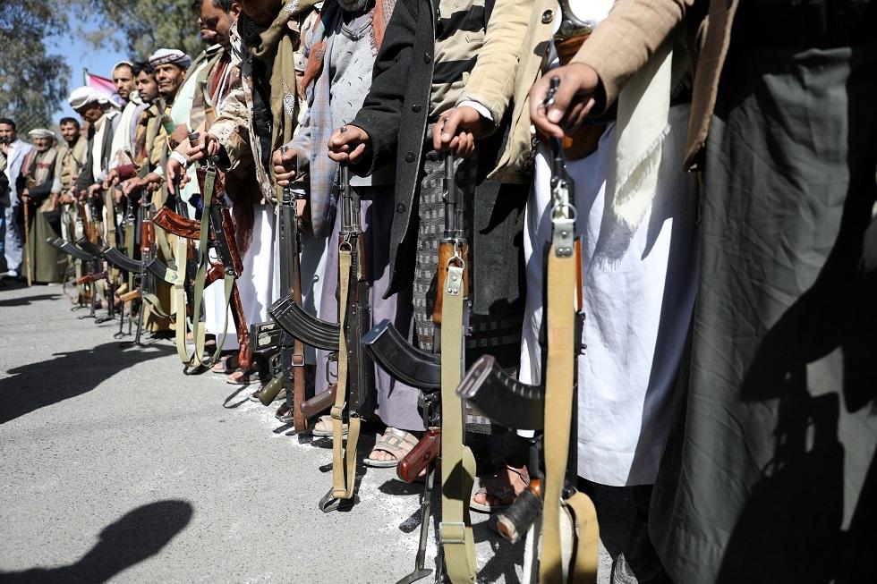 مؤيدون لجماعة الحوثي