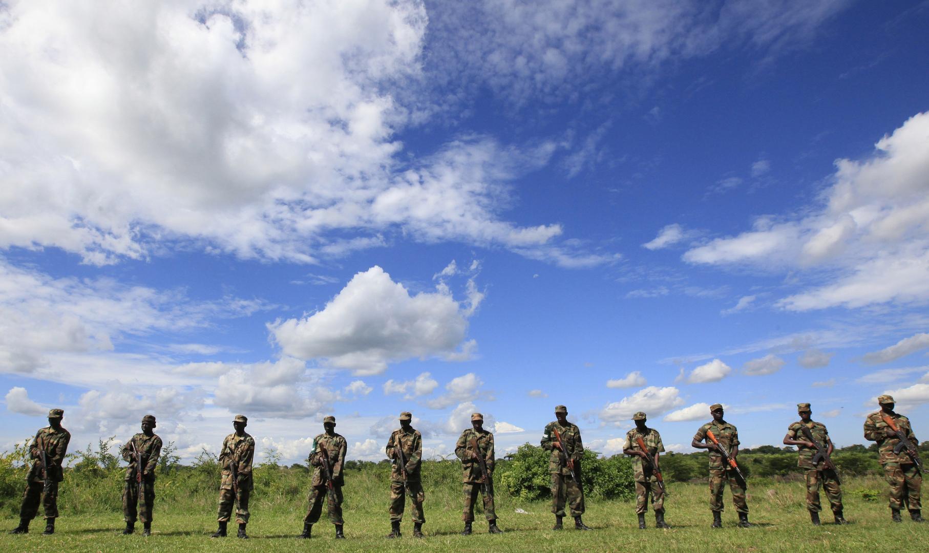 عناصر من الجيش الأوغندي