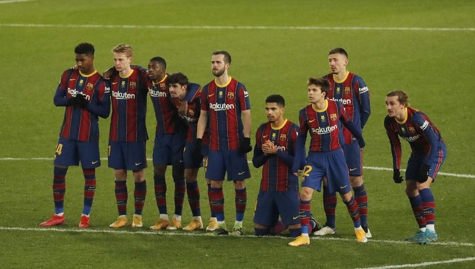 برشلونة يرد على عناد ديمبلي