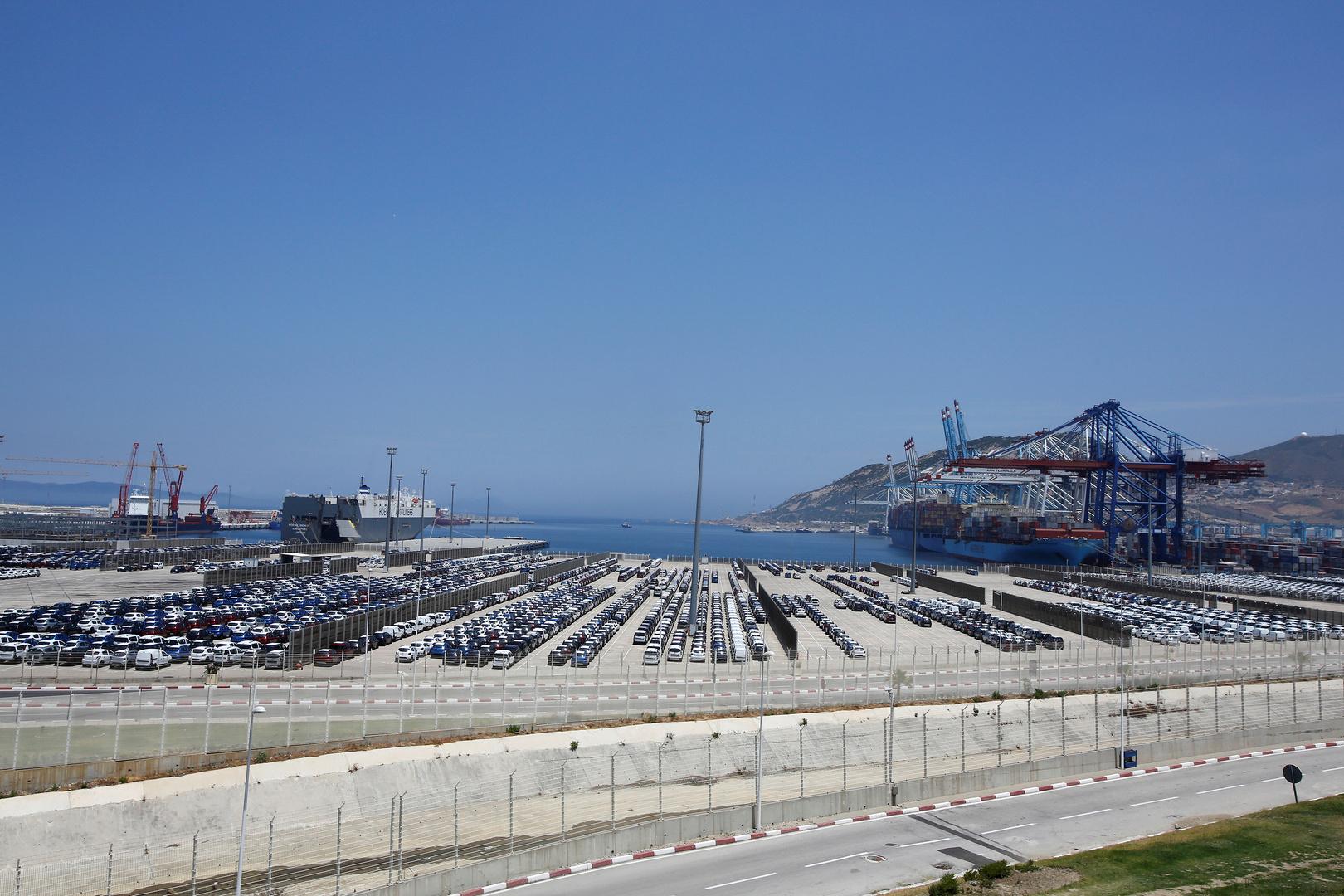 الميناء المغربي الضخم