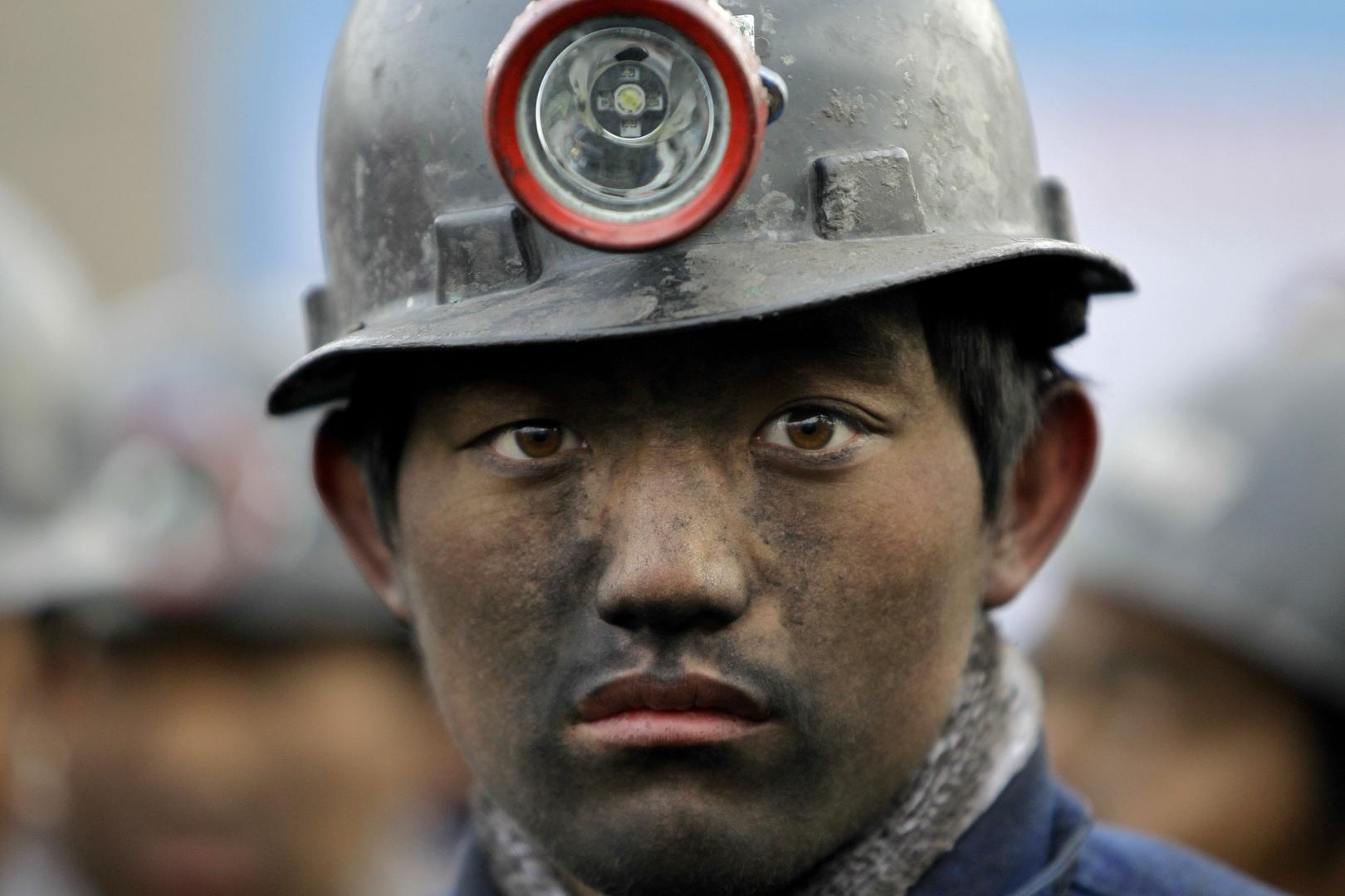في مناجم إقليم شانتشي بالصين. الصورة: أرشيف