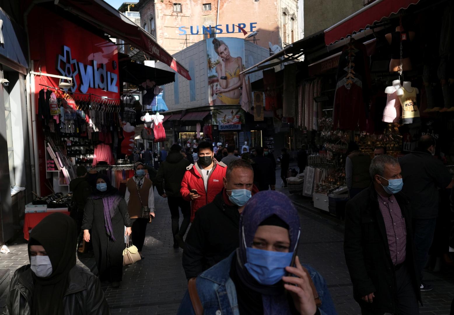 تركيا..144 وفاة و5856 إصابة جديدة بكورونا