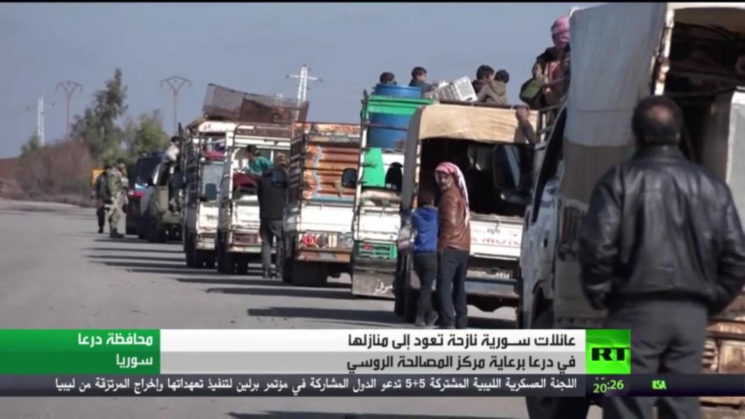 النازحون السوريون.. تجربة العودة