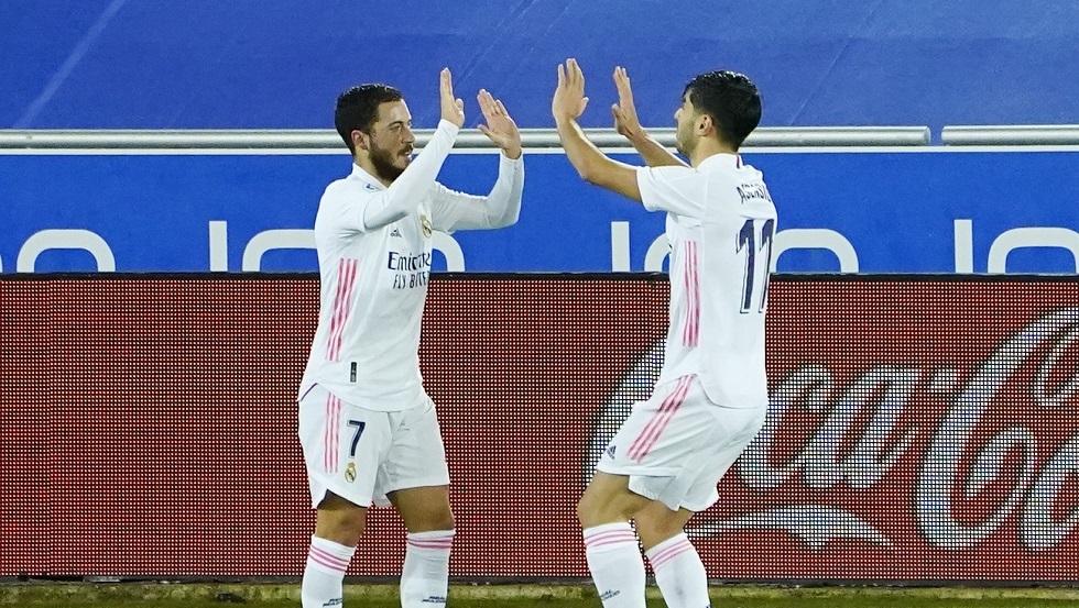 شاهد.. ريال مدريد يفسد احتفال ألافيس بالمئوية