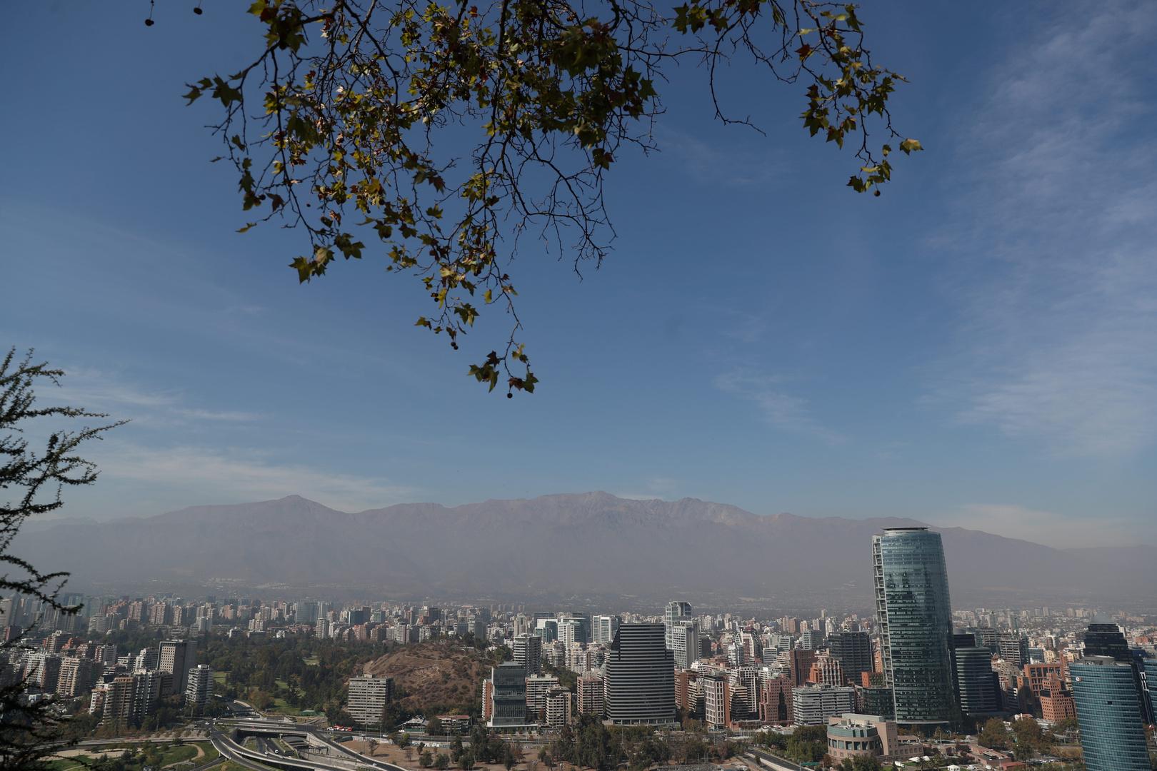 عاصمة تشيلي سانتياغو.