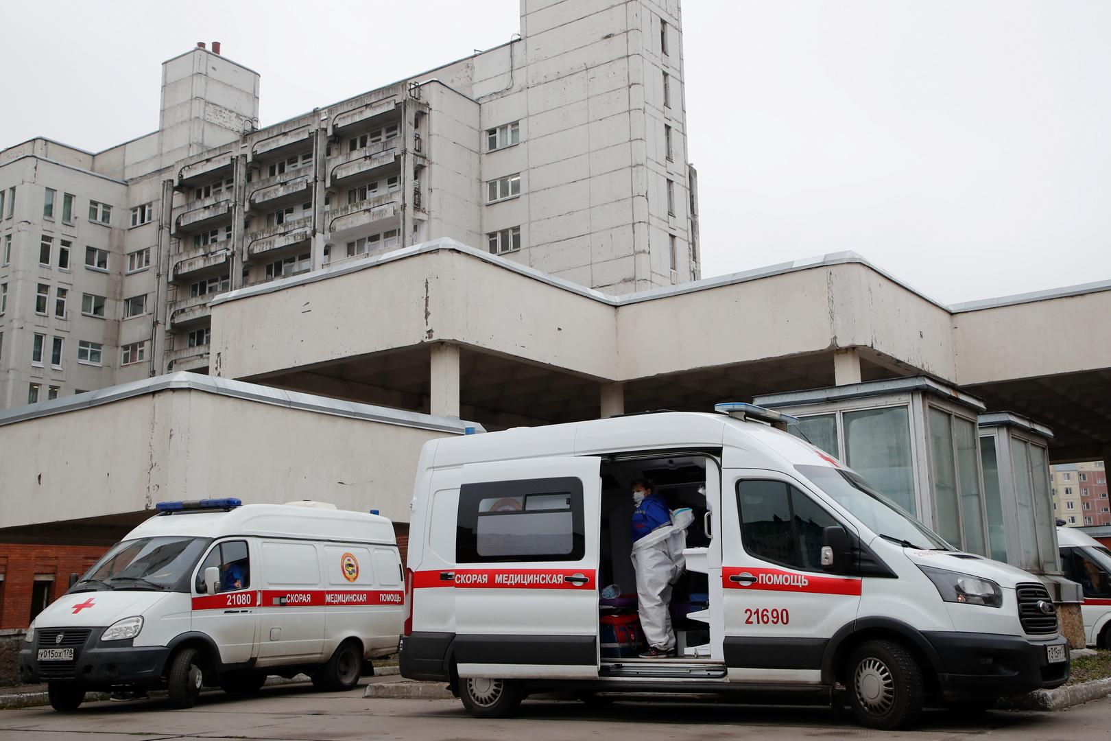 روسيا تسجل أكثر من 490 وفاة و21 ألف إصابة بكورونا خلال 24 ساعة