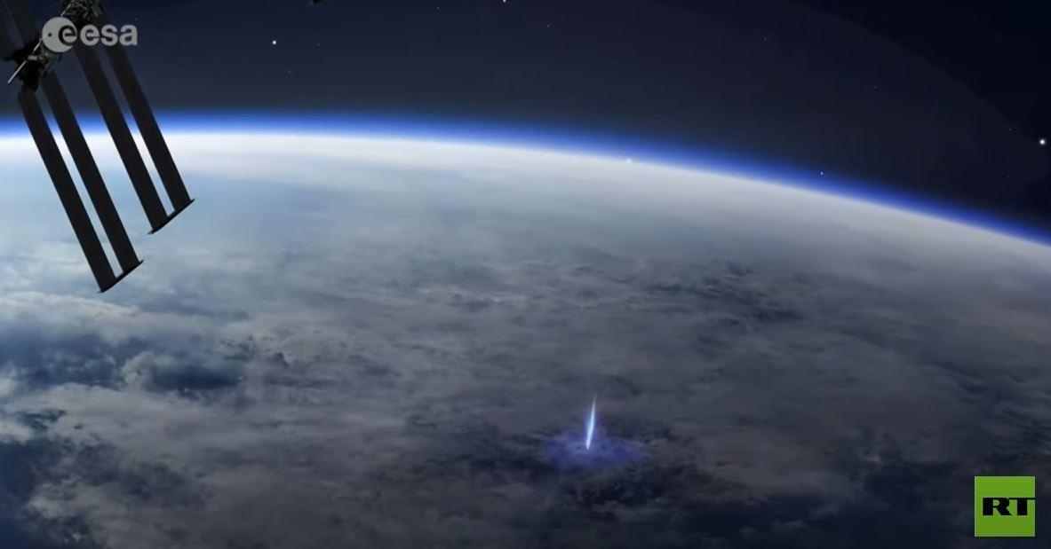 محطة الفضاء الدولية تسجل ظواهر جوية فريدة من نوعها