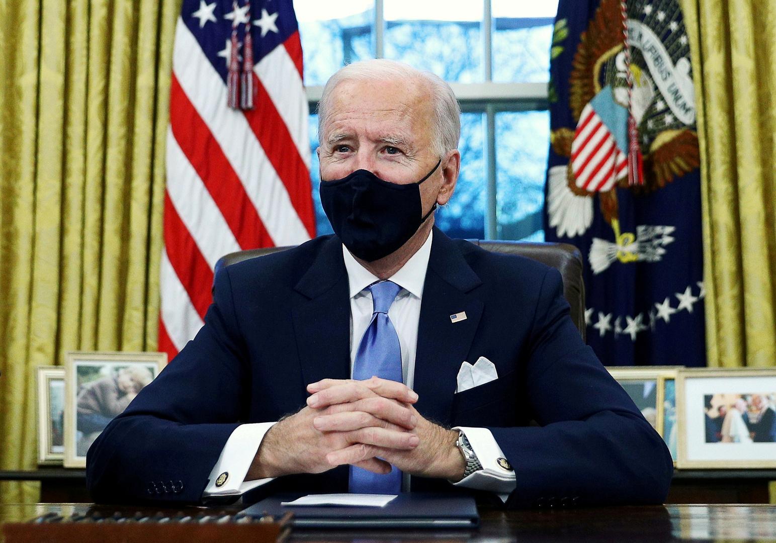 الرئيس الأمريكي، جو بايدن.