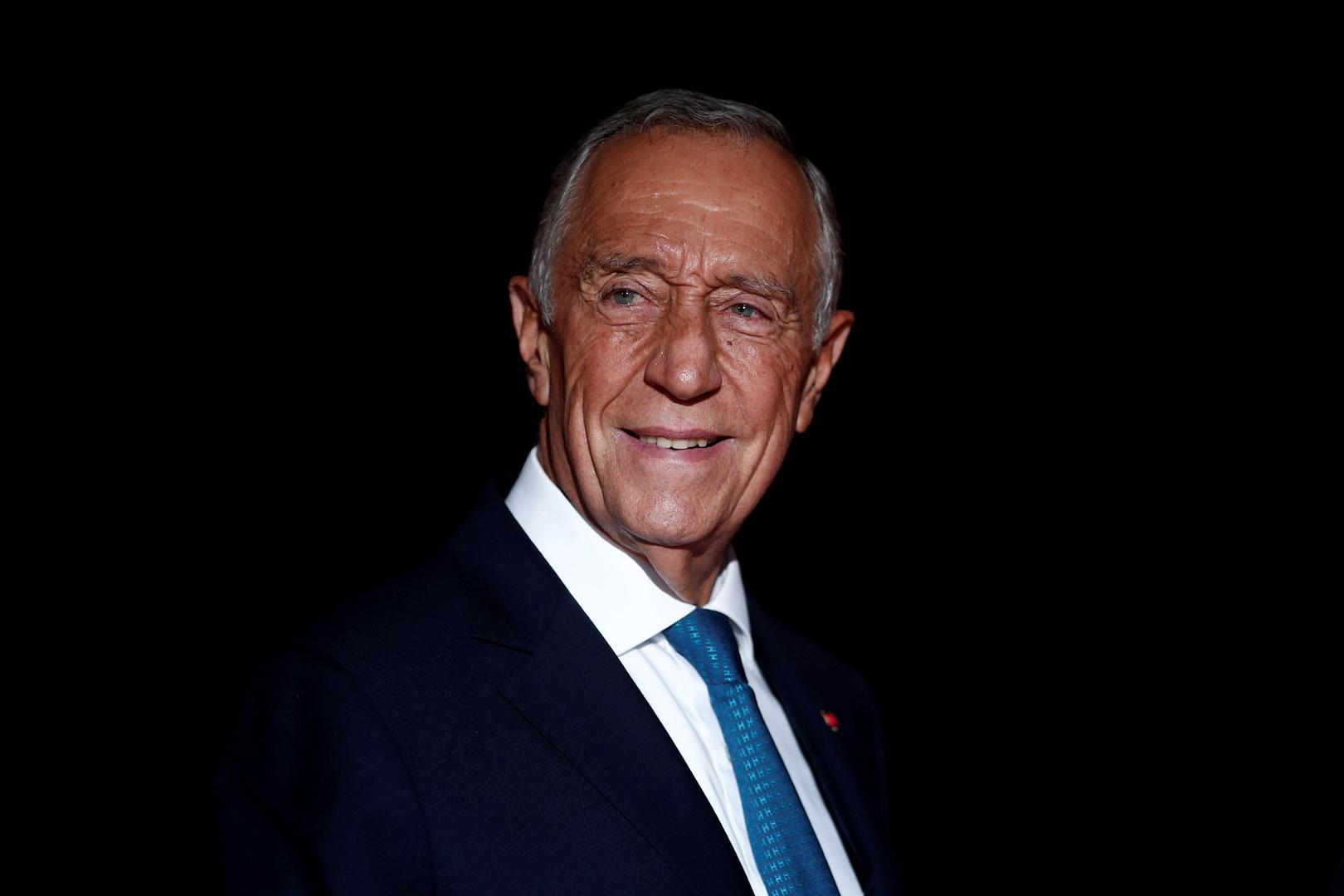رئيس البرتغال، مارسيلو ريبيلو دي سوزا.