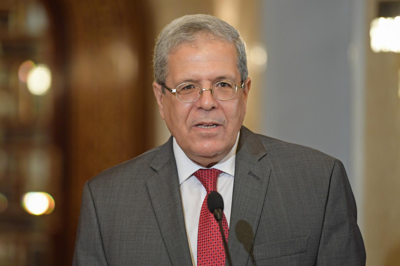 وزير الخارجية التونسي يعلن إصابته بكورونا