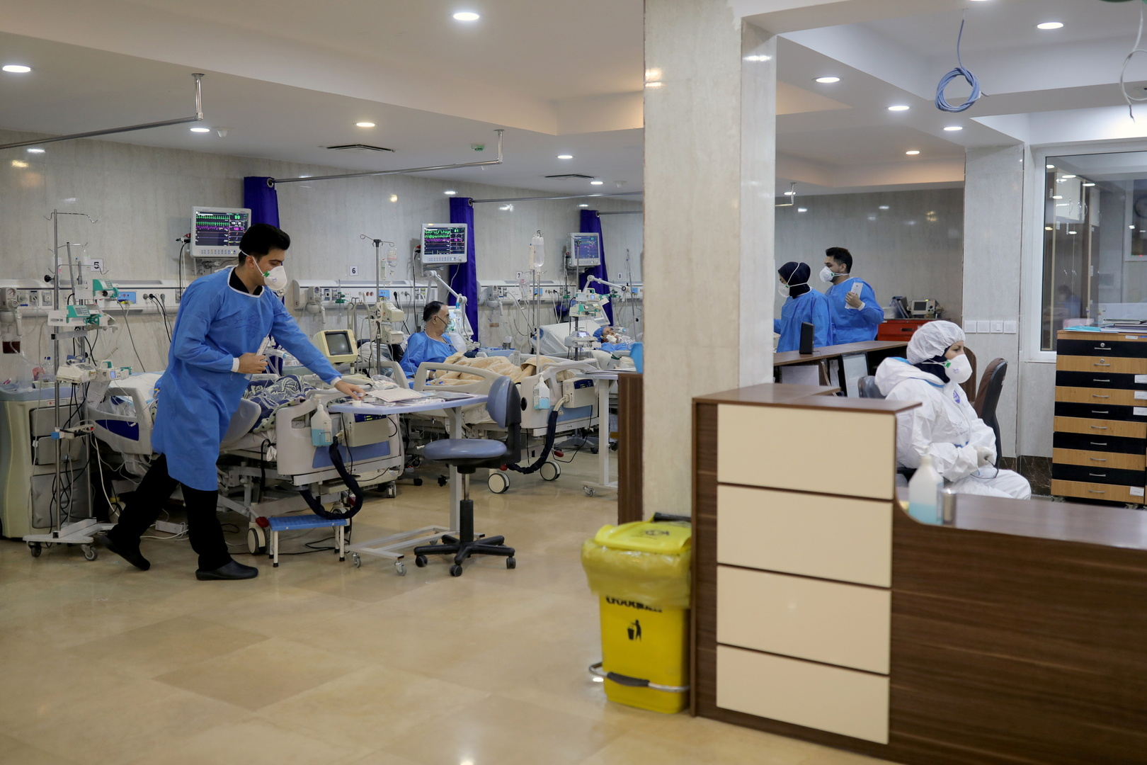 إيران.. أكثر من 6.3 ألف إصابة جديدة بفيروس كورونا