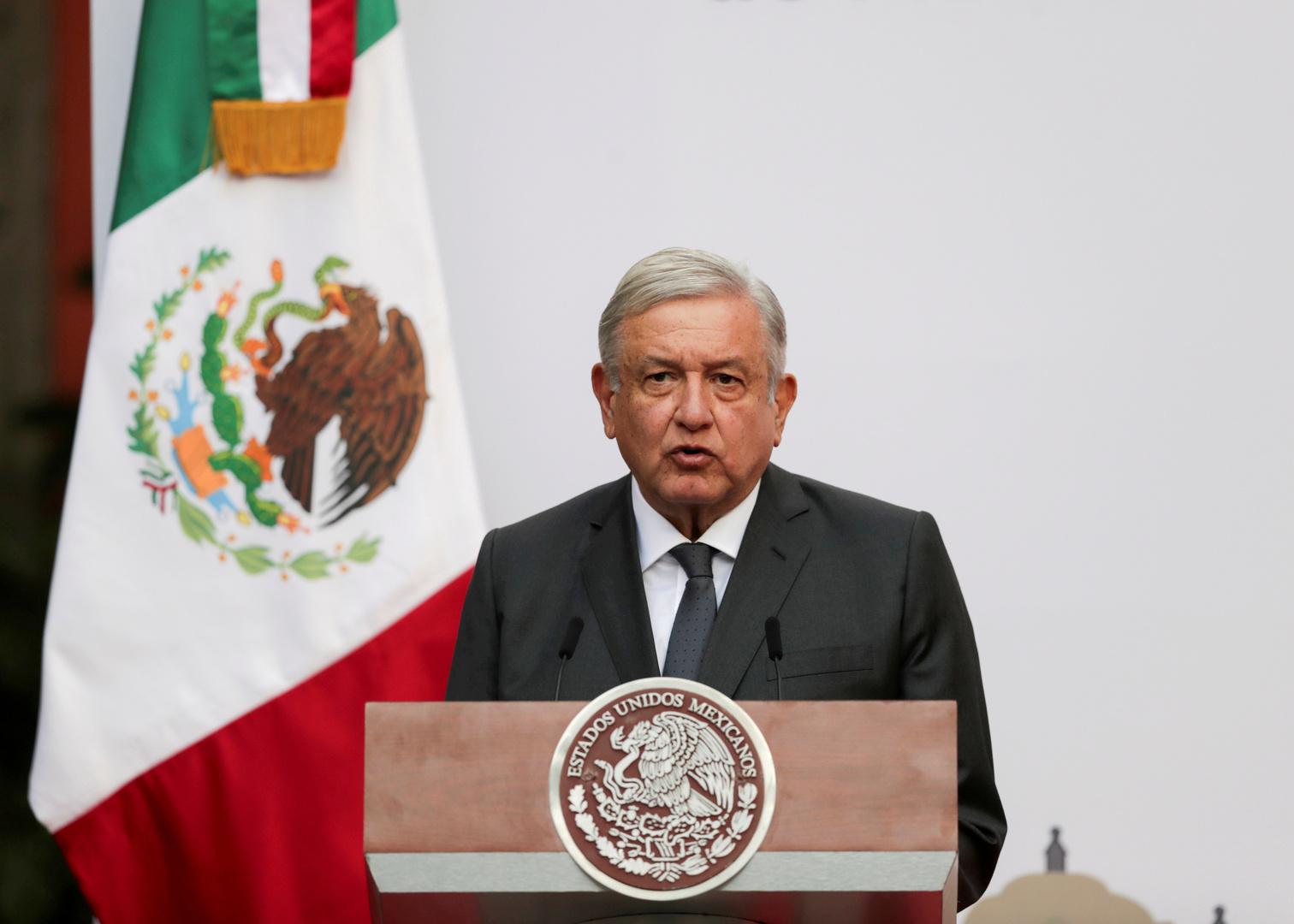 الرئيس المكسيكي يشكر بوتين على قراره توريد 24 مليون جرعة من لقاح