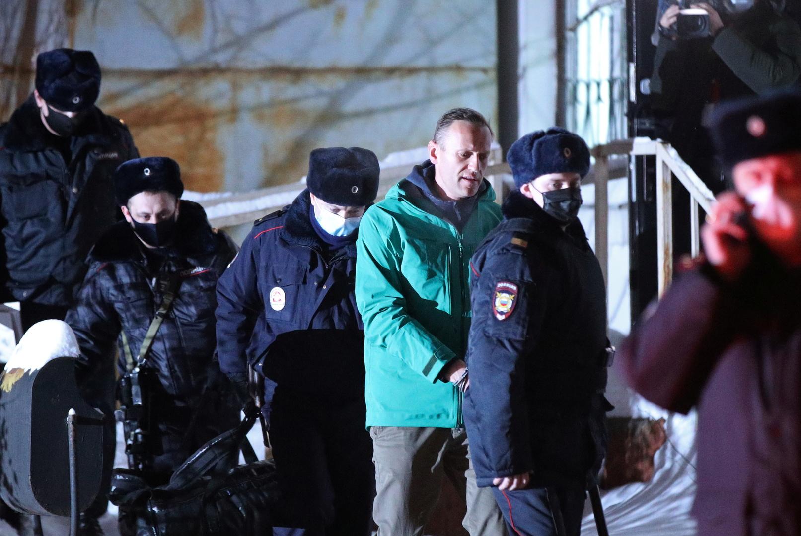 واشنطن تطالب السلطات الروسية بالإفراج عن نافالني والمحتجين الموقوفين
