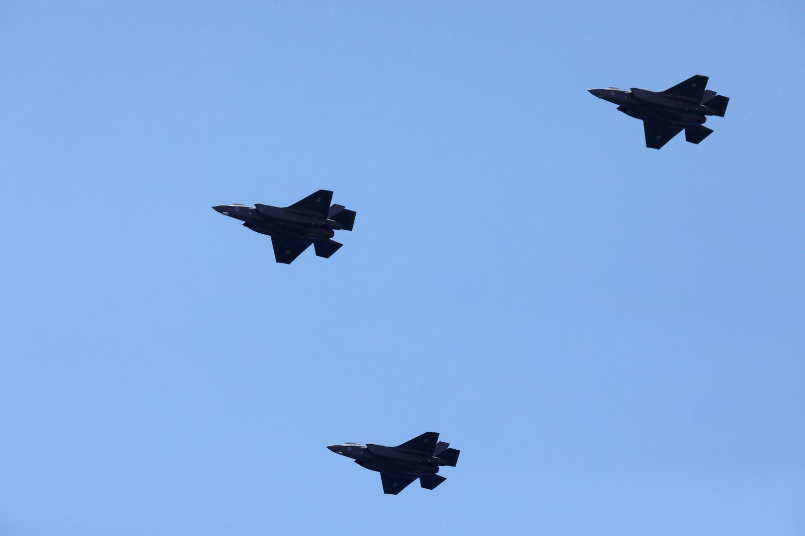 تحليق مكثف للطيران الحربي الإسرائيلي على علو متوسط في أجواء لبنان