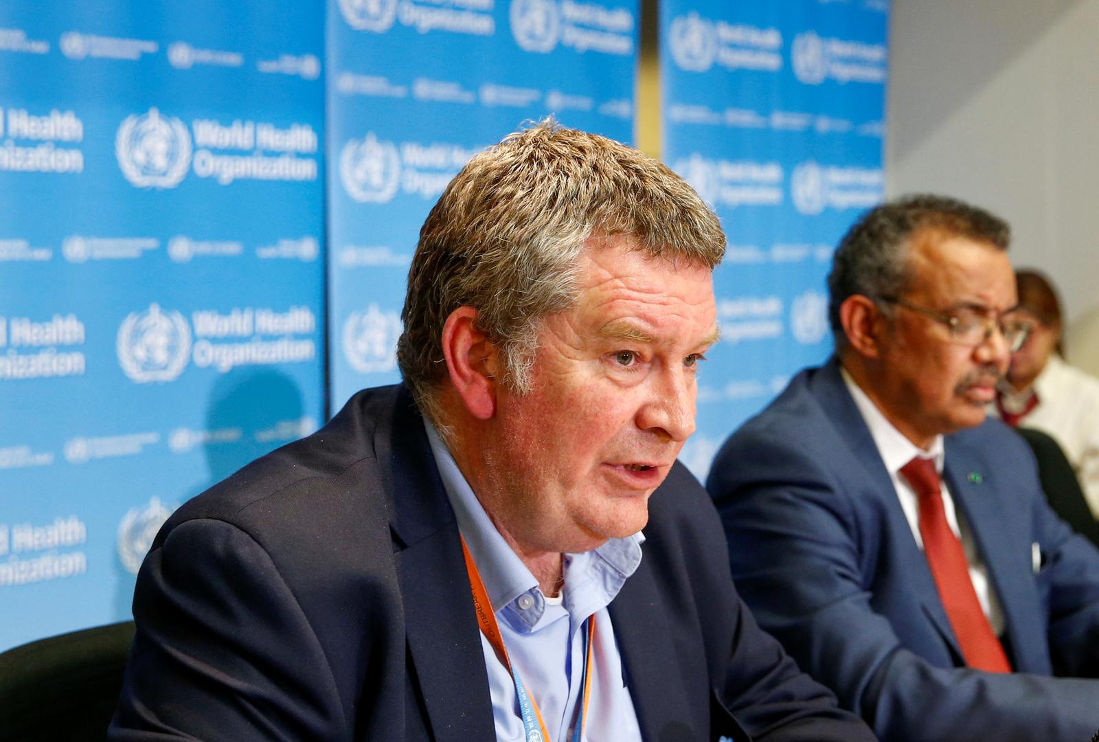مدير برنامج الطوارئ لمنظمة الصحة العالمية، مايك رايان