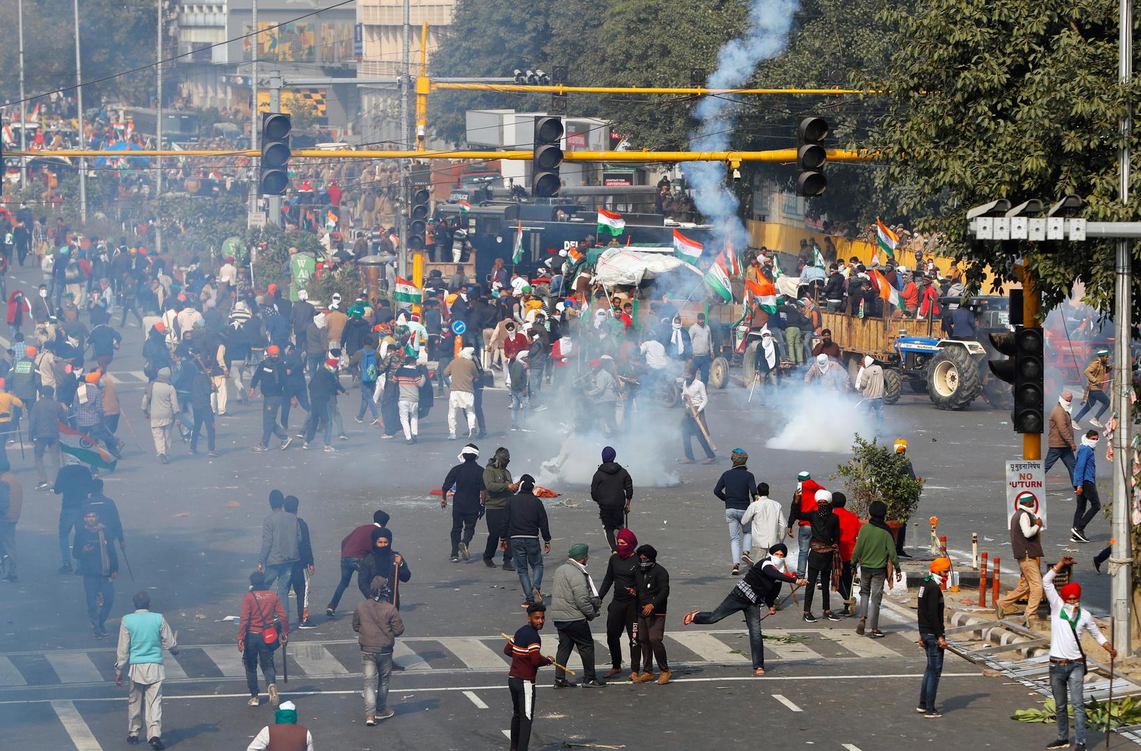قطع الإنترنت عن عدد من أحياء العاصمة الهندية بسبب احتجاجات